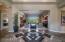 Foyer with Custom Tile Work