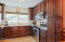 Kitchen, Granite Countertops, stainless steel appliances