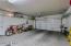 Extended length garage