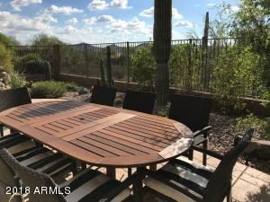 Outdoor Dinng Area with Distant Mountain Views!