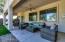 Cozy covered patio