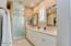 Gorgeous tile shower
