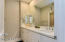 Double sinks in both bathrooms