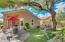 Cozy maintaince free backyard