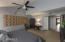Downstairs Master Bedroom w/Walk In Closet