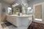 Master Bathroom w/Dual Sinks