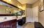 Double sinks with vanity space