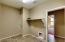 Main level laundry room w/extra storage