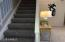 STAIRS DIVIDE FAMILY RM, KITCHEN & LIVING RM!