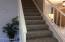 STAIRS LEAD TO 3 LARGE BEDROOMS & 2 BATHS!