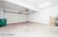 2-car garage with alcove storage