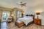 Huge Master Bedroom with Separate Entrance to the Backyard