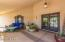 Sizable Front Patio with Seating Area