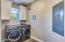 Front Load Washer/Dryer Installed 2018! Very SPACIOUS Laundry Room!