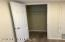 Hallway coat closet