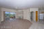 Lovely great room with built in entertainment area /New carpet throughout