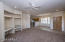 Great room with kitchen and dining adjacent / Nice wood shutters...New carpet