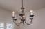 Attractive light fixture for above your dining table