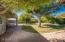 Backyard with large paver patio area