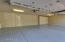 Epoxy flooring and built in workshop