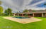Gorgeous mature landscaping and grassy backyard great for entertaining!