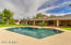 Afternoon sun on this pool allowing longer days in the winter months of outdoor use