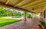 TNG patio cover and saltillo tile add charm to the outdoor space