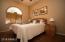 bedroom 2 with wood venetian blinds