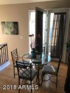 Kitchen nook - upstairs with balcony doors