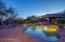 Pebble Tec pool & spa with large shallow play area for kids