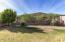 Private Hillside lot
