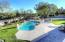 Deck view to pool and grass area