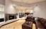 Great room family & kitchen