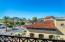 Master suite balcony with view of Camelback & Mummy Mtns