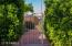 fenced side yard - perfect for a dog run