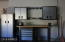 Workbench and Cabinets in 3 Car Garage