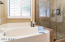 Separate Luxurious Bath, Updated and Tiled Shower