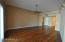 Living area sporting Beautiful Bamboo flooring