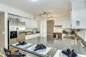 Beautiful updated kitchen with granite countertops!