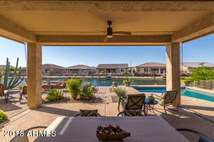 Large covered Patio, pool, LAKE LOT