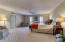 Large master suite with plenty of room for a sitting area
