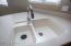 Clean molded sink