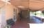 Huge, full length, covered patio with ceiling fans and lights!