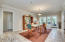 Elegant dining room large enough to host your whole family!