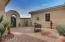 front courtyard w/ brick pavers
