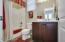 Full bathroom in casita