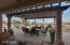 View of eating large dining under patio Pergala
