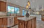 Custom two toned cabinetry with expert craftsman finishes
