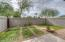 Expansive South Facing Backyard