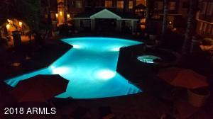 1 of 2 pools. This one is heated.